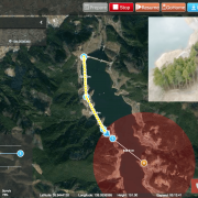 """Terra Drone Corporation  Developed New Function of Unmanned Aircraft System (UAS) Traffic Management (UTM) with Tokyo Electric Power Company Holdings in technical verification to Realize """"Drone Highway Initiative."""" ~World's First Success in Utilizing Simulated Data Acquired from Meteorological Observation Instrument Attached to Power Transmission Facility, Carried out Automatic  Drone Flight.~"""