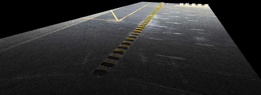 Aerial photogrammetric pavement assessment