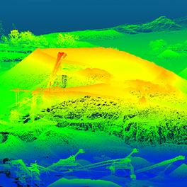 eBee改良機体(名称未定)で鉱山測量現場の効率化