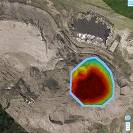 球体ドローンを使用したUnder Ground 調査