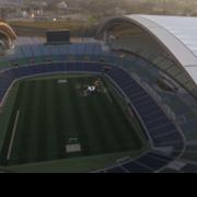 国内初、人物検知可能なスマートドローンによる スタジアム警備の実証に成功