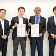 テラドローン、テラドローンインド、インド工科大学(IIT)ハイデラバード校がドローンの開発や研究に関する協力連携を目的とした三者協定を締結