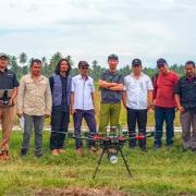 テラドローンインドネシア、国際協力機構(JICA)の協力のもと UAV LiDARを活用した測量で スラウェシ島地震で被災したインドネシア・パルの復興を支援 〜被災地パルでのUAV LiDARによる地形測量の実施は初〜