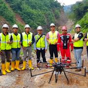 テラドローンインドネシア、自社開発のLiDARシステム「Terra Lidar」を活用した初の測量で、現地大手建設会社2社のダム建設の効率化に成功