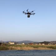テラドローン、ドローン搭載型グリーンレーザを使った、陸上・水面下のデータ取得が可能なUAV測量サービスを提供開始