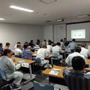 早稲田大学と共同開発のドローン搭載型レーザ「Terra Lidar(テラライダー)」を用い、沖縄県の山間部(亜熱帯の植生下)を伐採前に計測