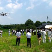 テラドローン、福岡県で早稲田大学と共同開発のドローン搭載型レーザ「Terra Lidar(テラライダー)」のデモ計測・講習会を実施