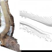 テラドローン自社開発ソフト「Terra Mapper」を奈良県庁農林部森林整備課が導入へ 山地災害被災地の調査、平面図や縦横断図などの図面作成が目的