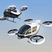 テラドローンとエアモビリティ 「空飛ぶクルマ」の社会実装に向けて業務提携