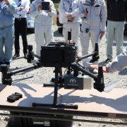 新型レーザドローン Terra Lidar One の計測デモ・講習会を実施 福島県内の測量会社・建設会社から約20名が参加