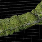 急斜面の土砂災害対策を目的とし、自社製品Terra Lidar Oneを用いたレーザー計測を実施。